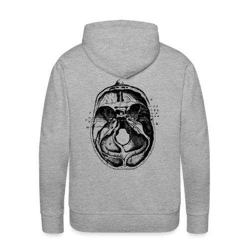 Esprit ouvert noir - Sweat-shirt à capuche Premium pour hommes