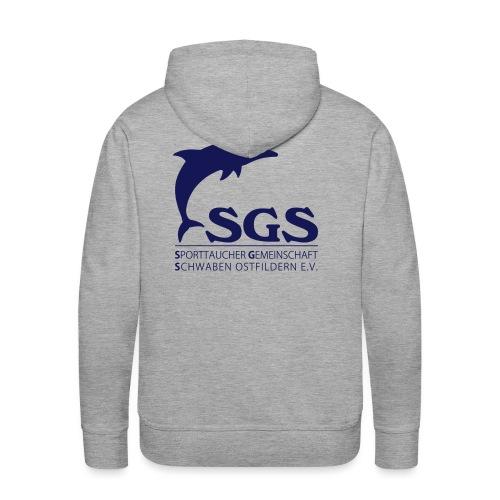 SGS Komplettlogo - Männer Premium Hoodie