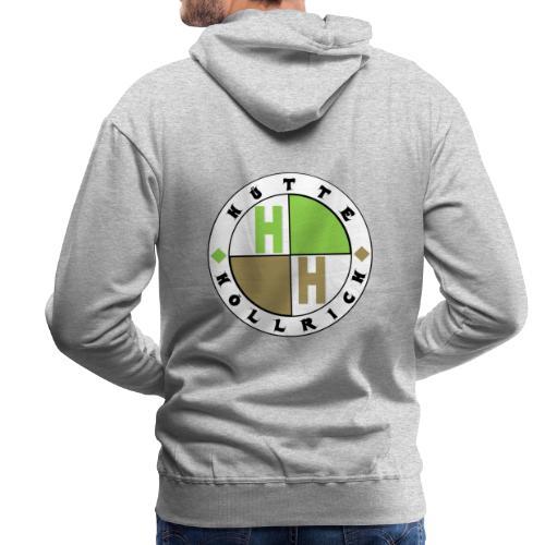 Hütte Höllrich Logo hinten/groß - Männer Premium Hoodie