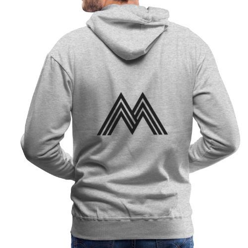 Merchandise With Deejay Michiel logo - Mannen Premium hoodie