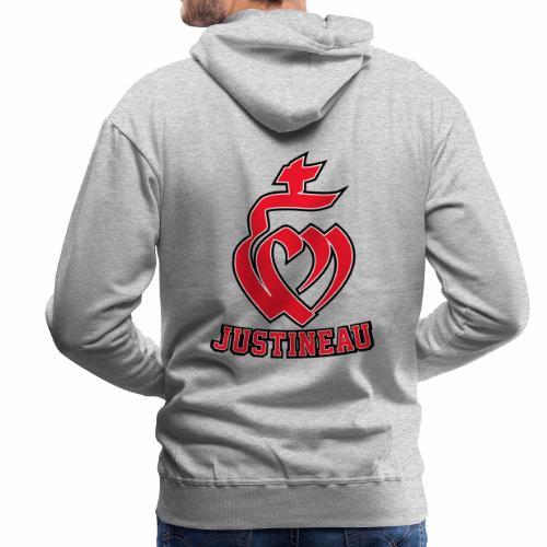 Martineau Coeur - Sweat-shirt à capuche Premium pour hommes