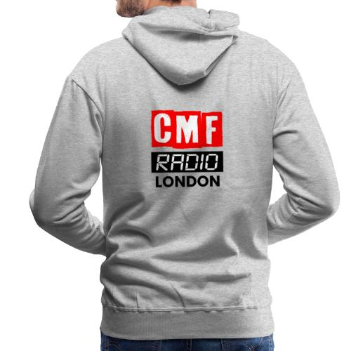 CMF RADIO LOGO LONDON - Men's Premium Hoodie