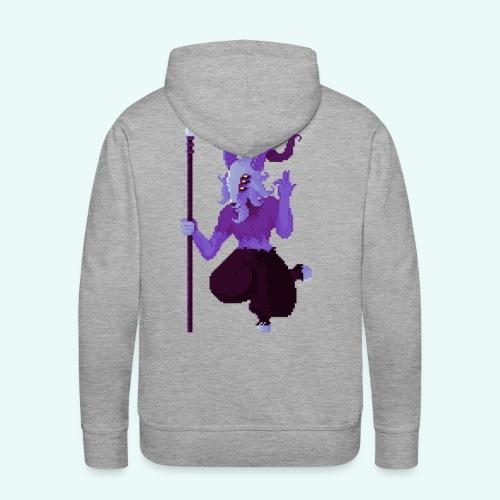 666 - Sweat-shirt à capuche Premium pour hommes