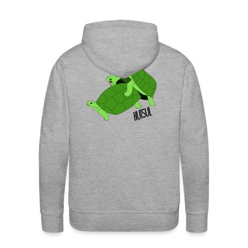 Turtle Hutsul - Sweat-shirt à capuche Premium pour hommes