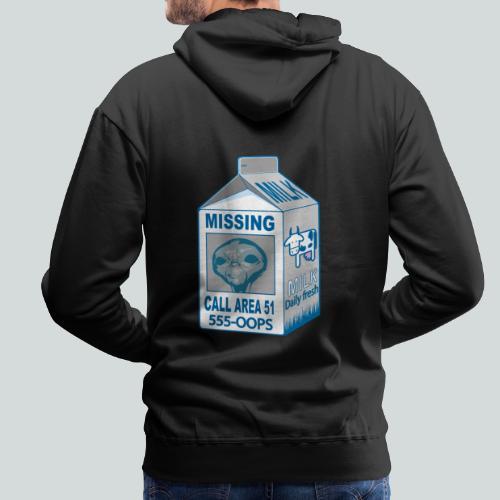 Missing: alien - Sweat-shirt à capuche Premium pour hommes