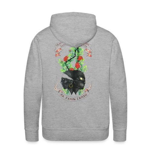 Clandestinu Ribellu - Sweat-shirt à capuche Premium pour hommes