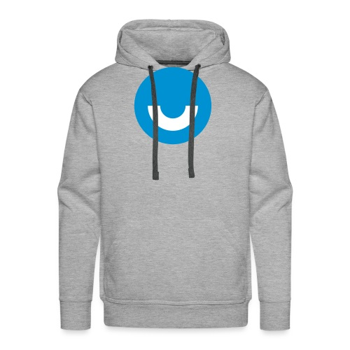 upday Icon blau - Men's Premium Hoodie