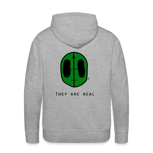 They Are Real - Men's Premium Hoodie
