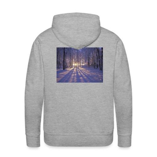 Wintercollectie - Mannen Premium hoodie