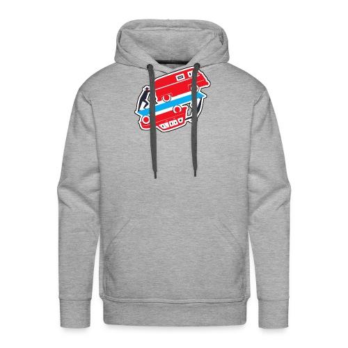 Logo vehicules-anciens.fr - Sweat-shirt à capuche Premium pour hommes