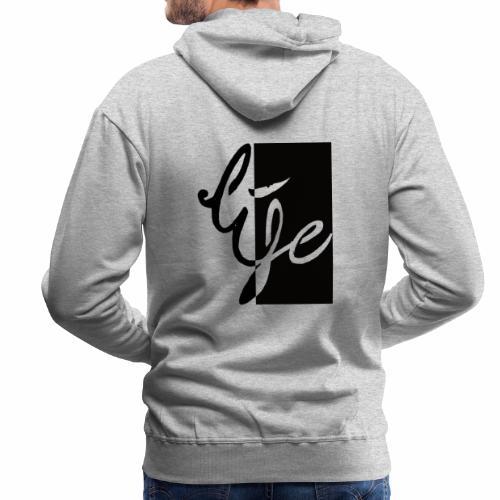 Life Logo 02 - Sweat-shirt à capuche Premium pour hommes