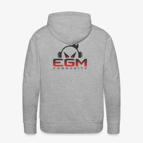 Logo EGM-Community - Sweat-shirt à capuche Premium pour hommes