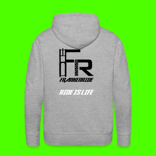 Frankenride logo 2016 - Männer Premium Hoodie