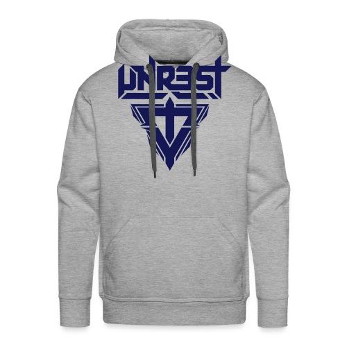 logo white - Mannen Premium hoodie