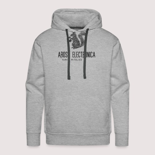 Family Mitglied Arosa Electronica - Männer Premium Hoodie