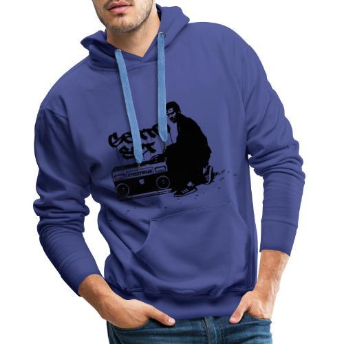 Gettoset Streetwear - Miesten premium-huppari