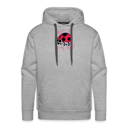 Insectops #2 Coccinelle - Sweat-shirt à capuche Premium pour hommes