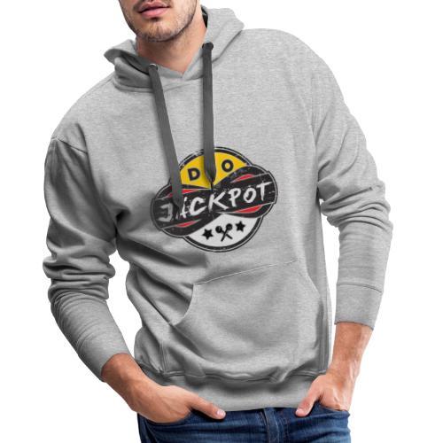 Duo Jäckpot Logo - Männer Premium Hoodie