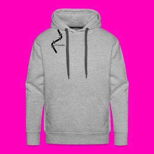 Drainpipe Logo - Men's Premium Hoodie