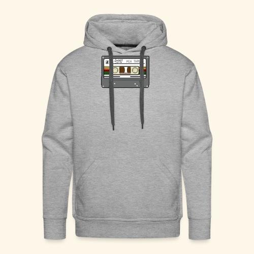 casette retro - Mannen Premium hoodie