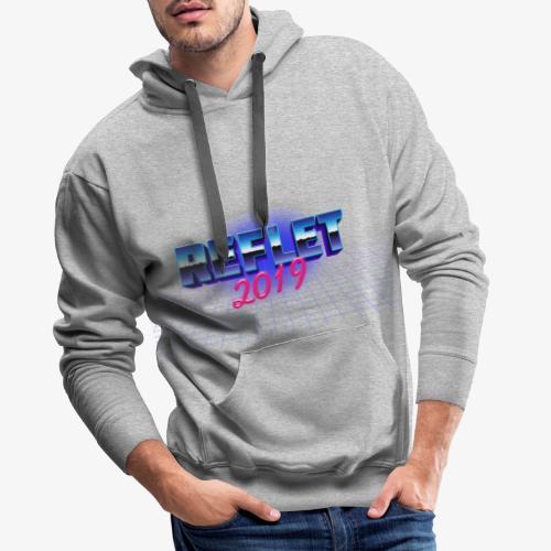 Reflet Vintage - Sweat-shirt à capuche Premium pour hommes