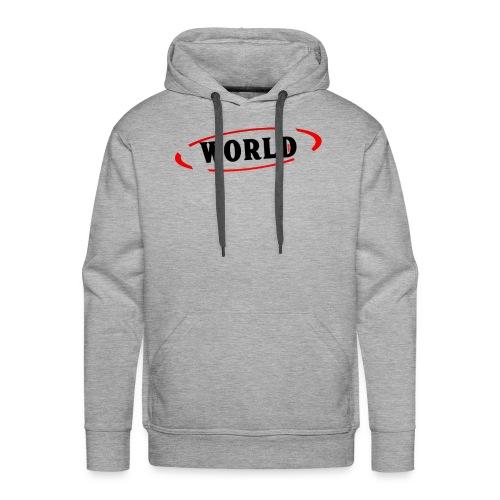 World Vibes - Sweat-shirt à capuche Premium pour hommes