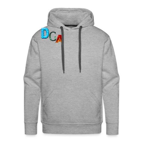 DGA - Sweat-shirt à capuche Premium pour hommes