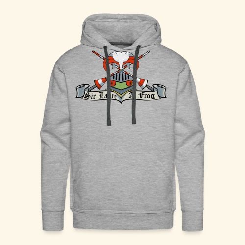 Sir Lance-a-frog Coat of Arms - Men's Premium Hoodie