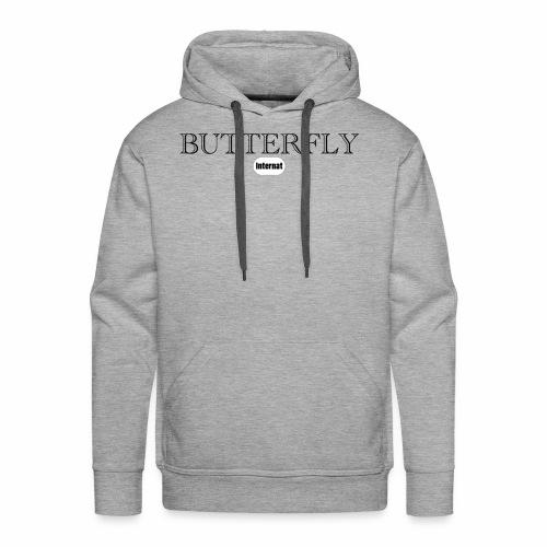 pap/butterfly - Sweat-shirt à capuche Premium pour hommes
