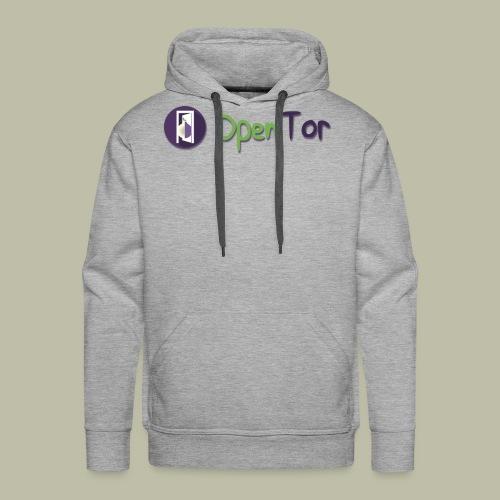 OpenTor Badge - Men's Premium Hoodie
