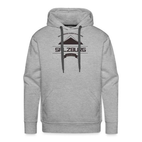 Salzburg-Wandern Logo - Männer Premium Hoodie