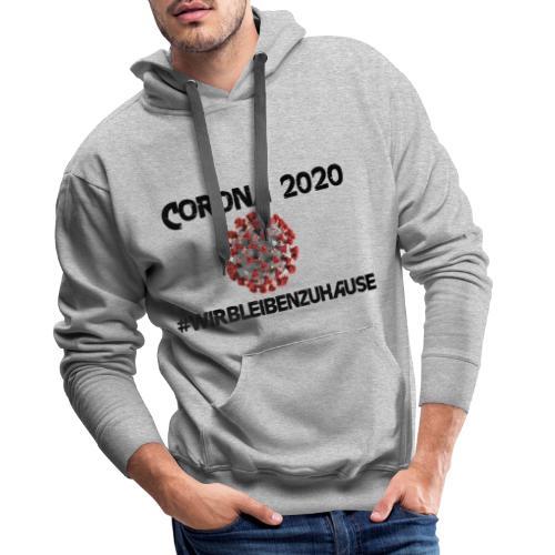 Corona 2020 - Männer Premium Hoodie