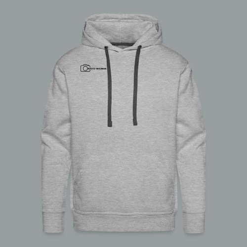 PHOTO WAUMAN Big Logo - Mannen Premium hoodie