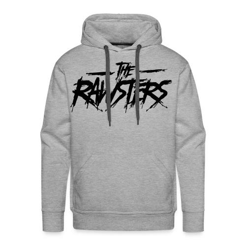 The Rawsters Logo - Sweat-shirt à capuche Premium pour hommes