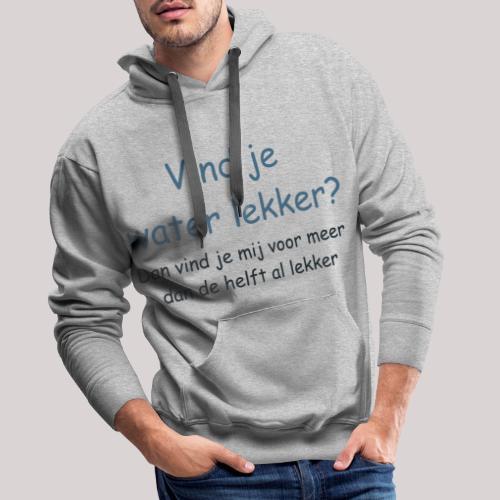 Water - Mannen Premium hoodie