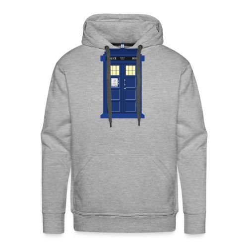 Tardis print Doctor Who - Men's Premium Hoodie