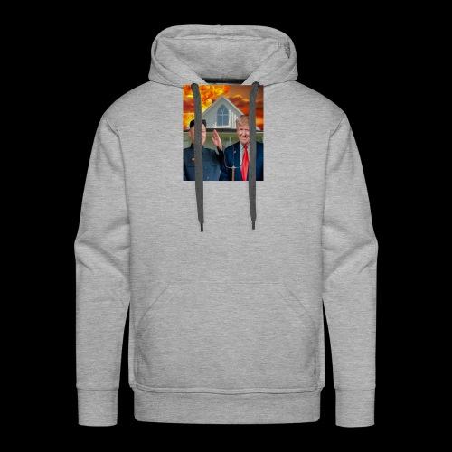 American gothic 2.0 - Sweat-shirt à capuche Premium pour hommes