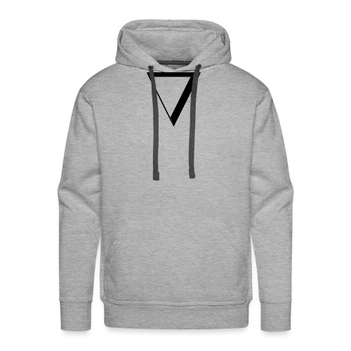 black triangle - Bluza męska Premium z kapturem