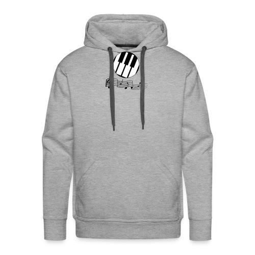 Le piano roulant. - Sweat-shirt à capuche Premium pour hommes