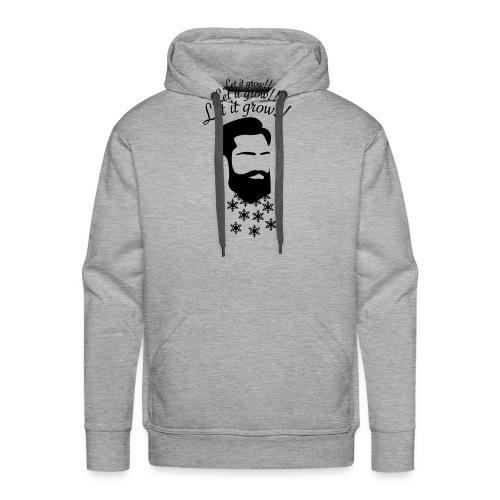 Let it grow! Beard - Männer Premium Hoodie