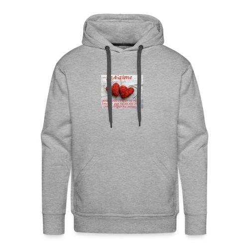 4F5A798D 89AE 4A18 A85F D5FF1D5FCD59 - Sweat-shirt à capuche Premium pour hommes