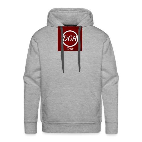 DGH rood - Mannen Premium hoodie
