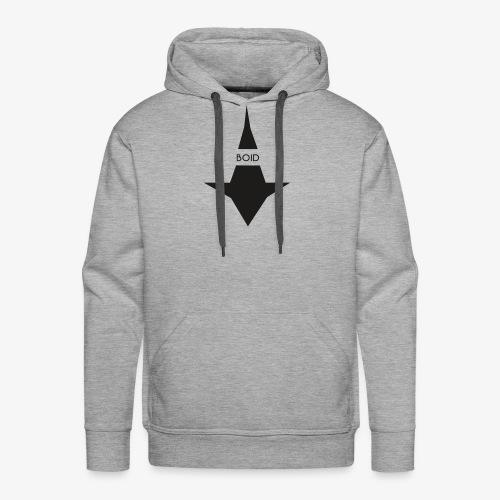 logo boid - Sweat-shirt à capuche Premium pour hommes