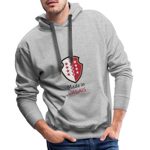 Hergestellt im Wallis - Männer Premium Hoodie