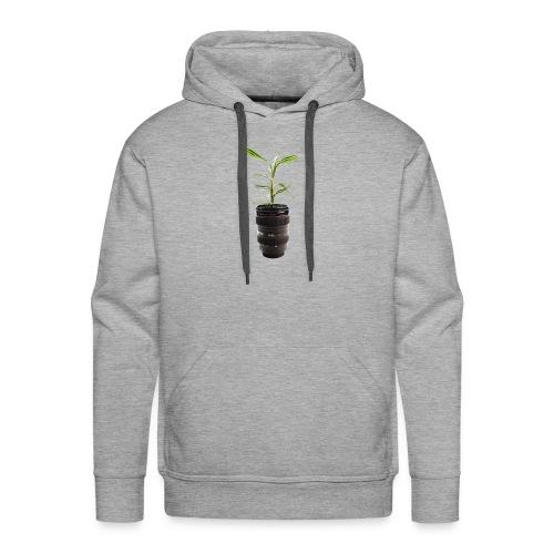 Pflanze im Objektiv - Männer Premium Hoodie