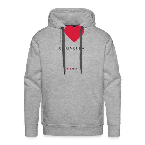 I love Gorinchem - Mannen Premium hoodie