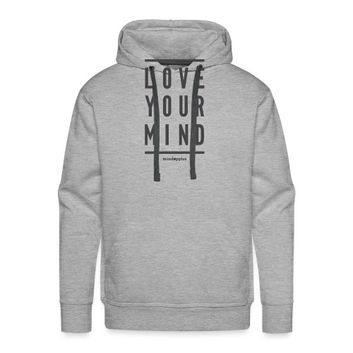 Mindapples Love your mind merchandise - Men's Premium Hoodie