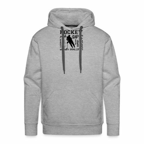 Puck slap victory - Sweat-shirt à capuche Premium pour hommes