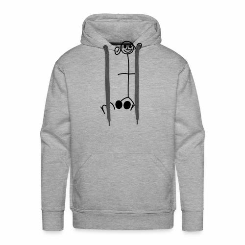 petite fille moon - Sweat-shirt à capuche Premium pour hommes