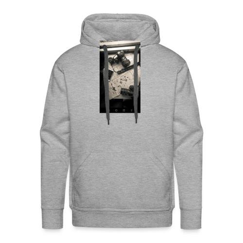 Buso con capucha negro - Sudadera con capucha premium para hombre
